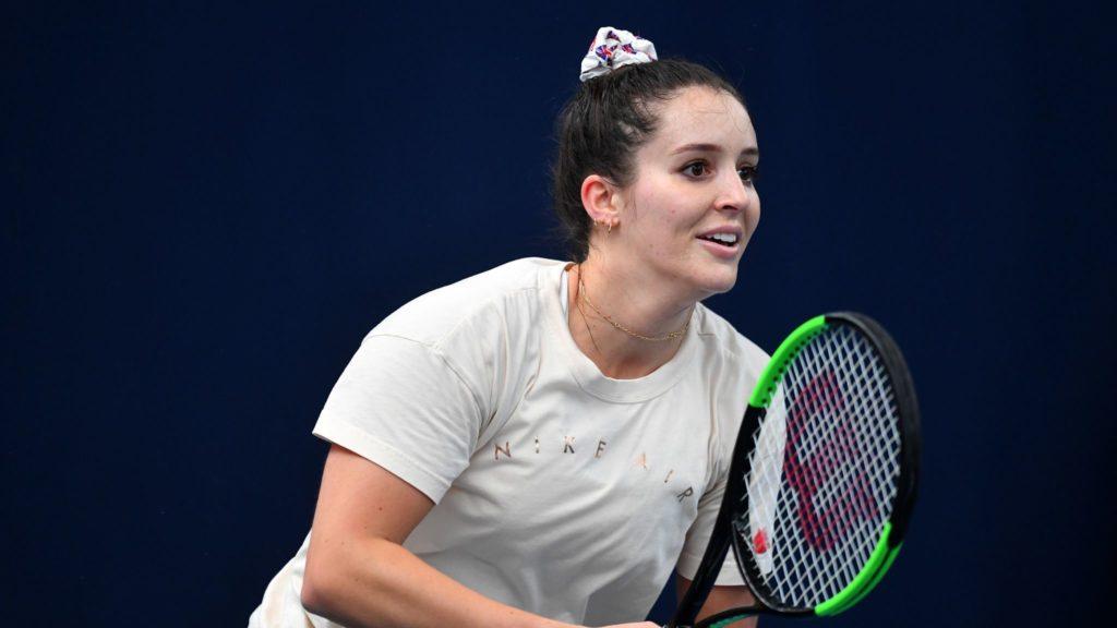 ลอร่า ร็อบสัน นักเทนนิส